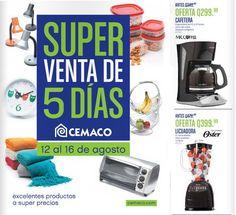 Catalogo Super Venta de 5 Dias Cemaco Ago-2015