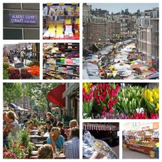 "Albert Cuyp market, best known market in Amsterdam. If you take the kids treat them to a ""zure bom"" at the haring stand. Take a coffee or lunch at one of the nearby cafe's (Krull, Bazar and many others). Buy an icecream at IJsCuypje or IJspaleis and take them to the Sarphati Park next door for the playground or the ducks. And visits stores such as the Kinderfeestwinkel, de taart van mijn tante, Blond and Casperle).  #Amsterdam-with-kids"