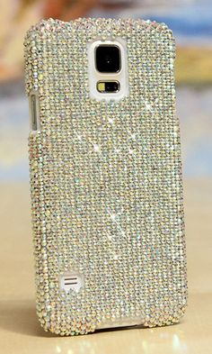 Plain AB Crystals Design bling case cover made for Samsung Galaxy Note 4; We can design this bling phone case for any phone/device, grab yours at http://luxaddiction.com/collections/flat-designs/products/plain-ab-crystals-design-style-909