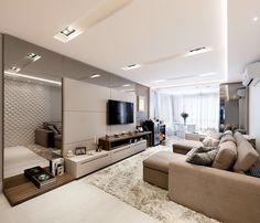 """16.8k Likes, 164 Comments - ARQUITETURA E INTERIORES ✨ (@decoreinteriores) on Instagram: """"Os sofás da @bellarteoficial são perfeitos para todos os tipos de ambientes. Sala projetada pela…"""""""