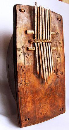 Kalimba Wooden Musical Instruments, Hurdy Gurdy, African Drum, Drums Beats, Didgeridoo, Kalimba, Africa Art, Flautas, World Music