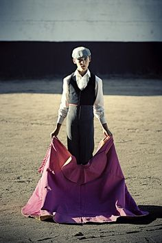 The Spanish Matador by Jeff Martin, via Behance