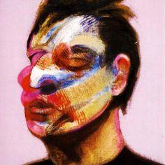 Francis Bacon - Self Portrait Right Panel, 1970