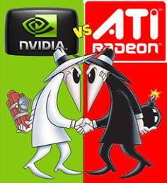 Perbandingan VGA NVIDIA dengan VGA ATI Radeon   Kalope : Ilmu Komputer Dan Teknologi