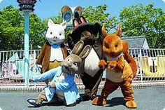 Peter Rabbit theme park in Nagashima, Japan