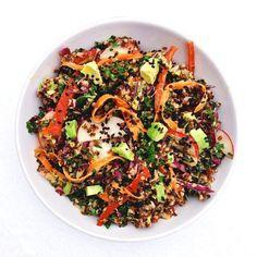 (RECIPE) Thai Quinoa Bowl   Sakara Life - News   Bloglovin'