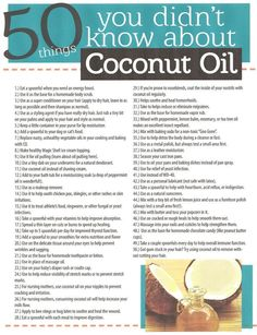 Benefits of coconut oil! www.onedoterracommunity.com…