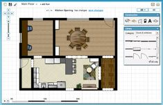 Floorplanner Com This Is Awesome Totally Free You Can Draw Your Own Floor Plans For Your Dream