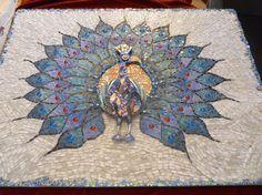 joan launspachs peacock mosaic