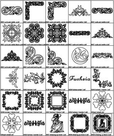 Kenny Creations Cataloge of designs