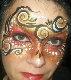 Pretty face painting