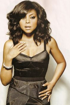 Taraji P. Henson, she is so beautiful!