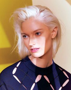 Helena Greyhorse by Eric Traoré for Marie Claire France May 2015 [Beauty]