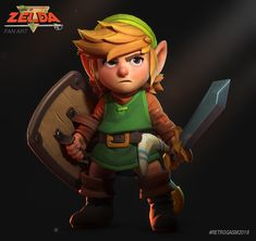 ArtStation - The Legend of Zelda Retrogasm 2018, Philemon Belhomme
