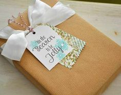 Project: Stamped Gift Tags