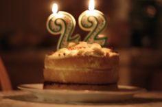 happy birthday cake 22 years old