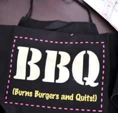 BBQ apron on sale for 50p from Poundland