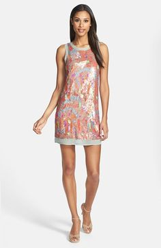 Alexia Admor Sequin Shift Dress available at #Nordstrom