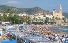 barcelona Sitges Beach