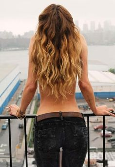 Playful & Sexy Curly Hair Styles and Color. Very cute.