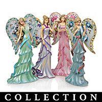 Lena Liu Angels Of Enchanted Beauty Figurine Collection