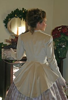 Riding Habit Bodice - this flare is lovely