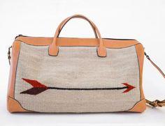 Straight as an Arrow Duffel Bag. www.mooreaseal.com