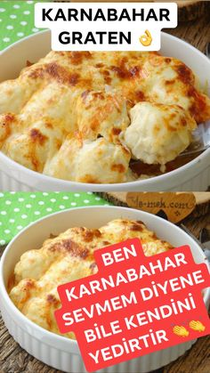 Baked Cauliflower with Bechamel Sauce Recipe How to Make? Baked Cauliflower, Cauliflower Recipes, Sauce Recipes, Vegan Recipes, Fancy Pizza, Turkish Recipes, Ethnic Recipes, A Food, Food And Drink