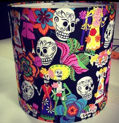 Make it in Design's top ten Halloween lights and shades - crazy skull lampshade