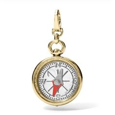 Compass Charm JA5647 | FOSSIL®