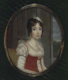 Marie-Julie Bonaparte, née Clary as Queen of Naples by Baron François Pascal Simon Gérard (Malmaison, châteaux de Malmaison et Bois-Préau, M...