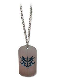 Fate/Zero Necklace: Lancer Command Seal Dog Tag
