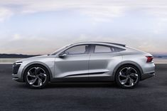 The Audi e-tron Sportback concept features an electric drive system that will be adopted in future all-wheel-drive models from the automaker.