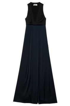 colorblock maxi dress by ALC