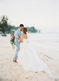 Coral Beach Wedding in Punta Cana - Inspired By This #puntacana #puntacanawedding #wedding