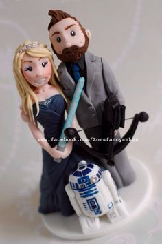 Bride and groom - Cake by Zoe's Fancy Cakes