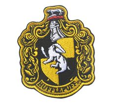 Harry Potter House of Gryffindor  Logo  Embroidered HOOK PATCH  sh   690