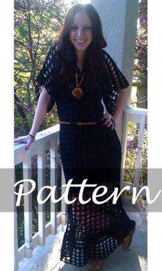 CROCHET PATTERN for Kathleen's Dress. $6.00, via Etsy. Luv this designer! She is on ravelry too!