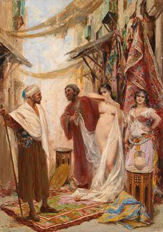 Al mercato degli schiavi