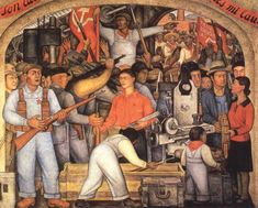 Diego Rivera's 5 Most Iconic Works Diego Rivera Art, Diego Rivera Frida Kahlo, Arsenal, Chaim Soutine, Social Realism, Aztec Culture, Painting People, Portrait Art, Portraits