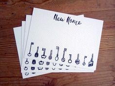 Change Of Address Cards Moving Announcement New Home House We Ve Moved Postcards Ilrated Keys 5 Pack