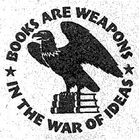 Books are weapons graphic