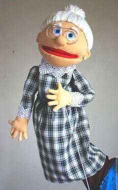 Кукольный театр ручной работы. Ярмарка Мастеров - ручная работа. Купить Расскажу-ка вам сказочку... Handmade. Чёрно-белый