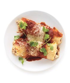 Chicken Enchiladas | Real Simple