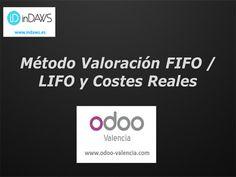 Método de valoración FIFO o LIFO y costes reales con ODOO. La mejor forma de gestionar el método de valoración FIFO es a través de la gestión de lotes