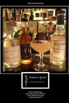 #MixologyMonday  #GreenMountainGimlet #BarrHill #DuncsMill #UrbanMoonshine #SumptuousSyrups  2 oz. Barr Hill Gin 1/2 oz. Dunc's Mill Elderflower Rum 3/4 oz. Fresh Lime Juice 1/3 oz. Sumptuous Lemon 3 Basil Craft Cocktail Syrup Dash Urban Moonshine Original Bitters 2 thin slices Cucumber Optional Edible Flowers/Mint Garnish Combine all ingredients in shaker with Ice. Shake Vigorously.  Strain into chilled cocktail glass or coupe.  Optional Edible Flower/Mint Garnish. This #VT #Cocktail…