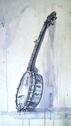 Banjo Painting by ~Boatwright on deviantART