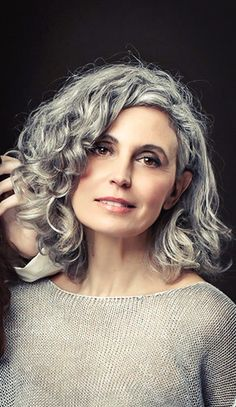 This is how I'd like to go gray
