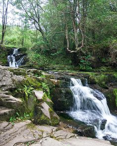 Image of Glenbarrow Falls in the Slieve Bloom mountains Co Laois Ireland | Damien Carroll photography at Cearbhuil Studios