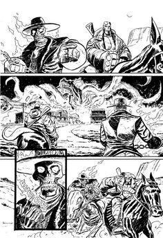 Comic Book Artist: Dan McDaid   Abduzeedo Design Inspiration